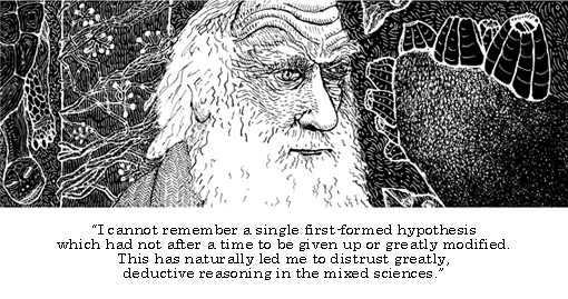 Darwin on deduction in science